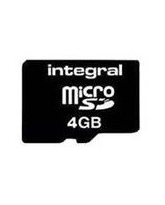 INTEGRAL 4GB MICRO SD NO ADAPTOR RETAIL PACKING C4