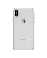 GOLD PLATED APPLE IPHONE X, 64gb,  18k silver rose gold