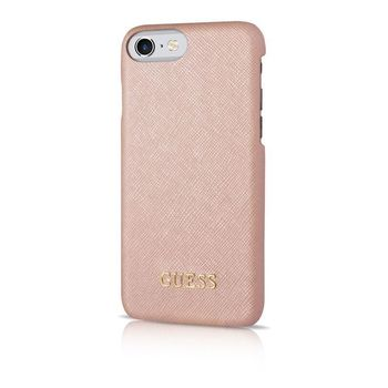 GUESS IPHONE 7 / IPHONE 8 BACK CASE HARD CASE,  pink
