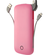 MYCANDY POWER BANK 10000MAH PB02 MICRO & LTNG PINK