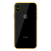 GOLD PLATED APPLE IPHONE X, 256gb,  space grey yellow gold