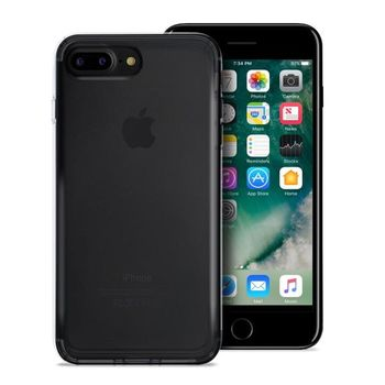 PURO IPHONE 8 PLUS ULTRA-SLIM   0.3 NUDE   COVER BLACK