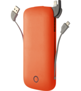 MYCANDY POWER BANK 10000MAH PB02 MICRO & LTNG ORANGE