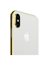 24K GOLD PLATED APPLE IPHONE XS,  silver, 256gb