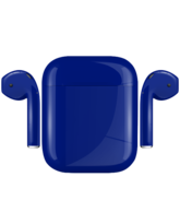 APPLE AIRPODS PAINTED SPECIAL EDITION,  cobalt, gloss