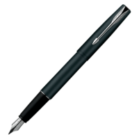 Parker Frontier Matte Black CT Fountain Pen