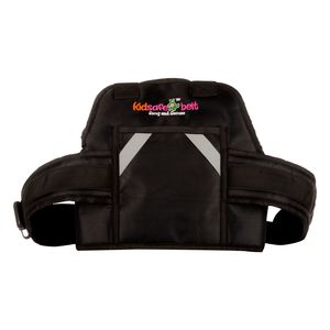 KIDSAFE BELT - Two Wheeler Child Safety Belt - World's 1st, Trusted & Leading (Cool UK Black New Plain), black
