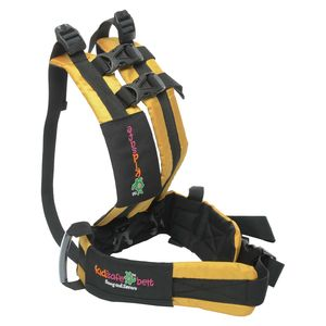 KIDSAFEBELT - Two Wheeler Child Safety Belt - World's 1st, Trusted & Leading (Air Luxor Yellow), yellow