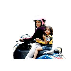 KIDSAFE BELT - Two Wheeler Child Safety Belt - World's 1st, Trusted & Leading (Cool Elegant Yellow), elegant