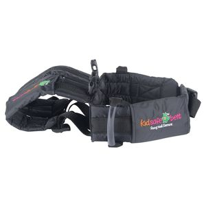 KIDSAFEBELT - Two Wheeler Child Safety Belt - World's 1st, Trusted & Leading (Air), black