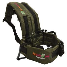 KIDSAFEBELT - Two Wheeler Child Safety Belt - World s 1st, Trusted & Leading (Air Dark Green), green