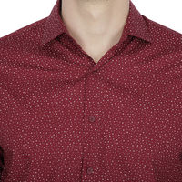 Chasquido All-over Dot Print Shirt in Slim Fit, m