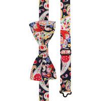 Dazzling Paisley Bow Tie