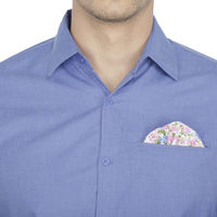 Chasquido Shirt with Fixed Pocket square in Slim Fit, m