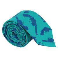 Blue Gun Tie