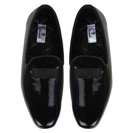 Chasquido Alluring Black Slip-ons, 8