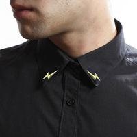 Lightning Collar Pin