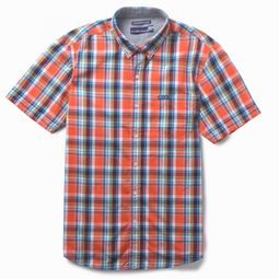 Flying Machine Smart Yarn Dyed Checks Mens Shirt,  red, m
