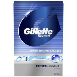 Gillette Series Cool Wave After Shave Splash, 100ml