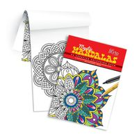 Campap Creative Colouring Book- Mandazlas