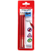 Faber Castell Junior Grip Blister Pencil Pack of 3
