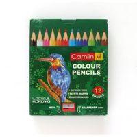 Camlin Half Size Colour Pencils, 12 Shades