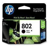 HP 802 Black Ink Cartridge (CH563ZZ)