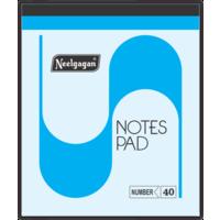 Neelgagan Slip Pad Thin Ruled No. 40 (Pack of 10)