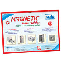 Solo Magnetic Data Holder (stick it on any iron/metal surfce)