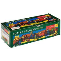 Camel Student Poster Color - 10ml each, 12 Shades(P)