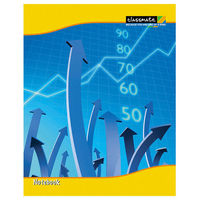 Classmate Graph Book - Soft Cover, 32 Pages, 210x170mm, Square 1-inch/Single Line (Pack of 12)