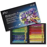 Mungyo Water Colour Crayons 24 Shades MAC24