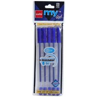 Cello My gel Pen, Blue, Packof 10