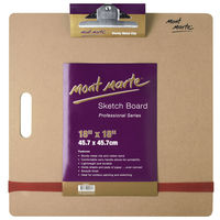 Mont Marte Sketch Board W/Clips Medium (MAA0012)