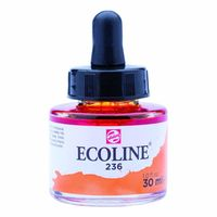 Royal Talens Ecoline Liquid Water Colour Ink 30ML - Light Orange (236)