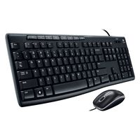 Logitech MEDIA Corded Keyboard And Mouse Combo (MK200)