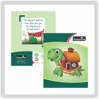 Communique Short Size Notebook (Four Line 160 Pages Pack Of 3)