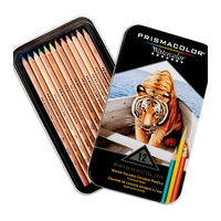 Prismacolor Water Colour Pencil Assorted (Set of 12) (SAN 4064)