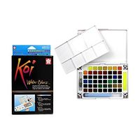 Sakura Koi Water Colour Cake 48 Shades (XNCW-48)