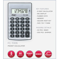 Flair Pocket Calculator (FC-100S)