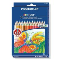Staedtler Noris Club Colouring Pencils, 36 Shades