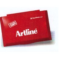 Artline Stamp Pad (Medium, Red)