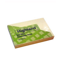 3M Highland Self Stick Removable Notes
