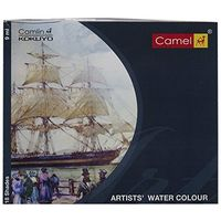 Camel Camlin Artist Water Colour Box (20ml, 12 Shades)