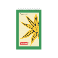 Neelgagan Spiral Notepad Thick Ruled 160 Pages No. 2 (Pack of 5)