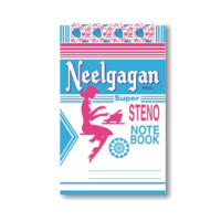 Neelgagan Steno Note Book (160 Pages)