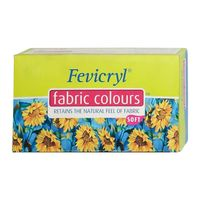 Fevicryl Fabric Colour 20ml Burnt Sienna 201 (Pack of 15)