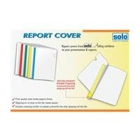 Solo Report Cover (Strip File, A4 Size)