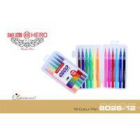 Hero Colour Pen - 12 Shades (8026-12)