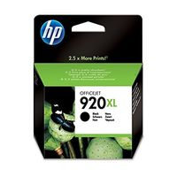 HP 920 XL Black Officejet Ink Cartridge(CD975AA)